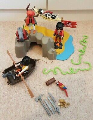 Playmobil Pirate Island & Accessories.