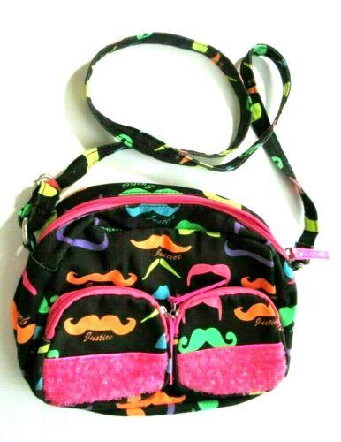 Justice Girls Purse Bag Shoulder Strap Multicolor Bling