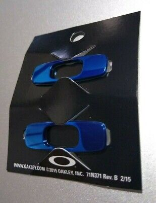 Oakley Batwolf Sunglasses Replacement Icons Attachments Pair Team Blue New