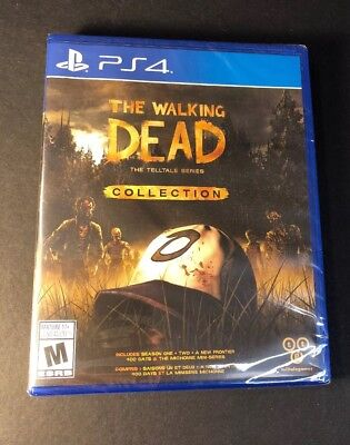 The Walking Dead Collection [ 3 Games In 1 Pack ] (PS4) NEW