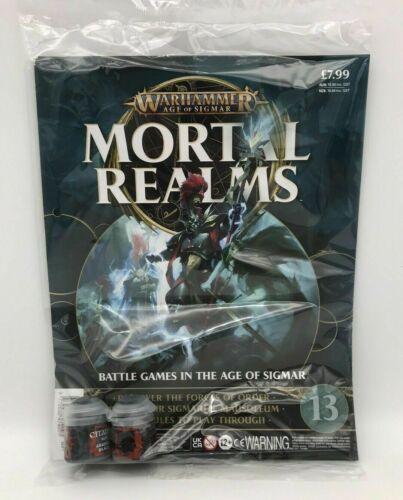 Games Workshop - Warhammer Age of Sigmar - Mortal Realms Magazine Issue #13
