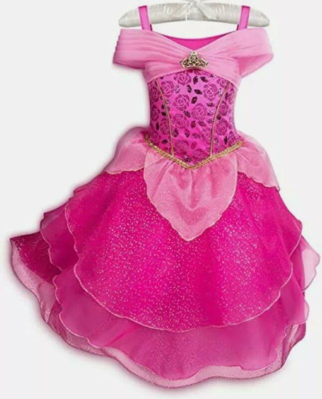 DisneyParks Aurora Costume Sz 13 Castle Collection Dress Sleeping Beauty NWT