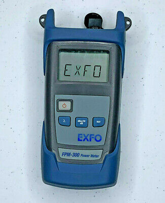 Exfo Fpm-300 Sm Mm Fiber Optic Power Meter - Exfo Opm W Sc Adapter