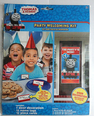 Thomas Birthday Party (Thomas and Friends Happy Birthday Party Welcoming Kit)