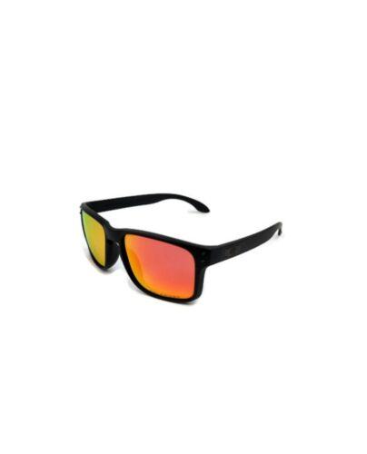 Oakley Holbrook Matte Black w +Red Iridium Lens Sunglasses 009102