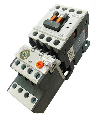 Motor Starter LSis 5 HP @ 230V 12-18 Amp Overload 208 230 Volt Coil Nema Size 1