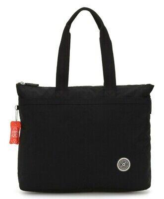 Kipling CHIKA Large tote bag with laptop protection - Brave Black