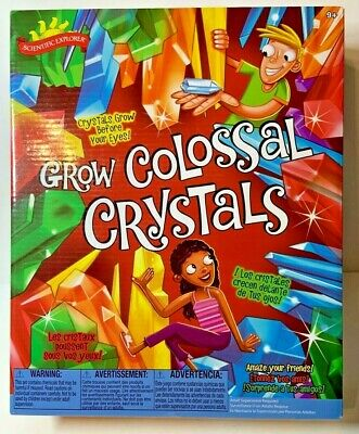 Scientific Explorer Grow Colossal Crystals New Sealed Box 2013 Alex Brands