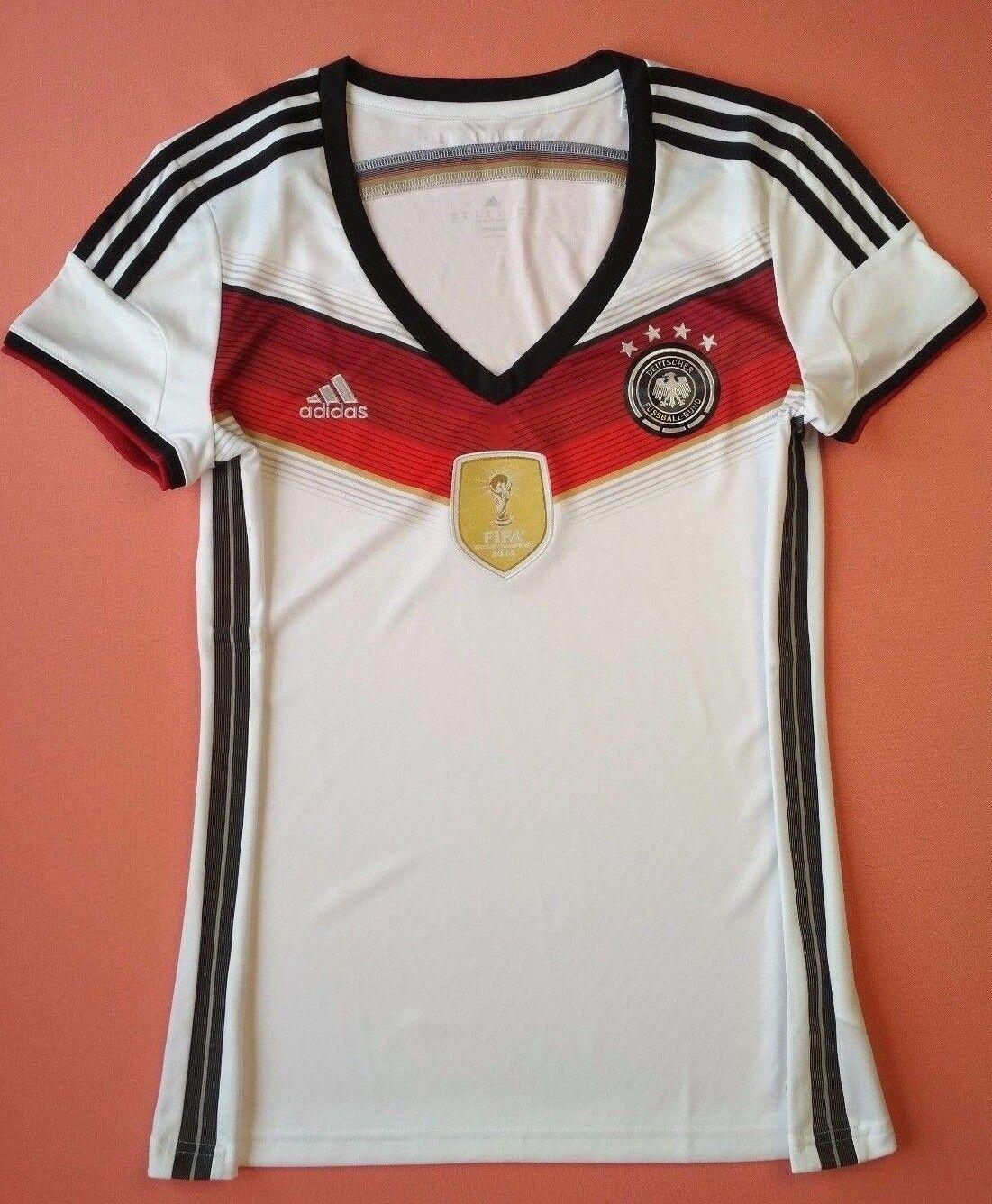 Germany womens soccer jersey XL 2014 WORLD CUP Winner Shirt