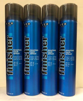 Joico Ice Hair Finisher Shaping Hair Spray 9 oz 300 ml 255 g 4 PACK SPECIAL