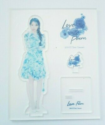 "K-POP IU Official Acrylic Stand - Official New 2019 IU Tour Concert ""Love, Poem"""
