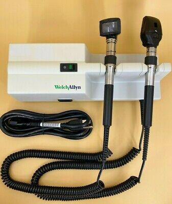 Welch Allyn 767 Series Wall Transformer With Otoscope And Ophthalmoscope Heads