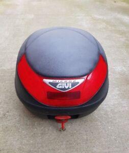 Givi Micro 2 scooter top storage box.