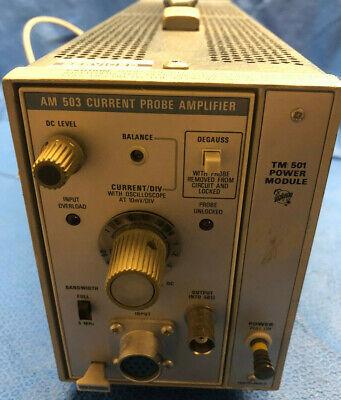 Tektronix Am 503 Current Amplifier