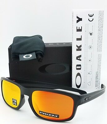 NEW Oakley Sliver Stealth sunglasses Black Prizm Ruby Polarized 9409-06 GENUINE (Stealth Sunglasses)