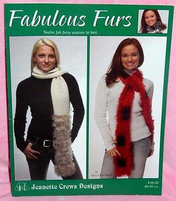 Шаблоны Jeanette Crews Design Fabulous Furs