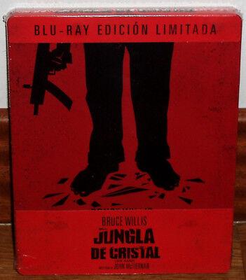 LA JUNGLA DE CRISTAL EDICION LIMITADA STEELBOOK BLU-RAY NUEVO (SIN ABRIR) R2
