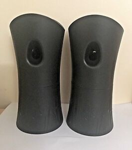 2 Air Wick Freshmatic Automatic Spray Air Freshener Dispensers BLACK