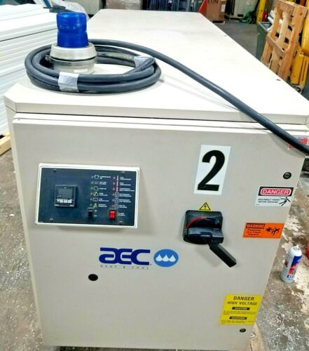 25 Ton AEC Water Chiller PSW 25 Serial no. 38F0390 460V 60Hz 3Ph 56FLA 5Hp Pump