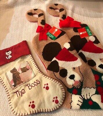 Dog Christmas Stockings (DOG & CAT CHRISTMAS STOCKINGS, CAT