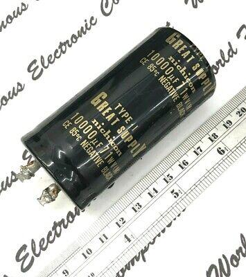 1pcs - Nichicon 10000uf 71v Snap-in Aluminum Capacitor