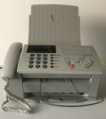 Sharp Ux-b700 Heavy Duty Inkjet Facsimile Fax - Plain Paper Inject Fax