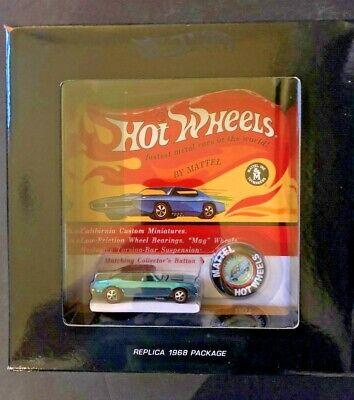 Hot Wheels Original 16 Redline Spectraflame Blue Custom Camaro - 1815/3000