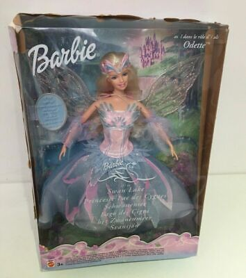 BOXED NEW DISNEY BARBIE SWAN LAKE ODETTE DOLL 2003 MATTEL DISPLAY COLLECTION S54