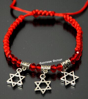 12 BAR MITZVAH PARTY FAVORS BRACELET CHARM STAR OF DAVID RECUERDOS GOOD LUCK](Bar Mitzvah Favor)