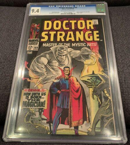 Doctor Strange #169 CGC 9.4 Marvel 1968 1st Issue! Origin! NM Copy! K12 126 cm