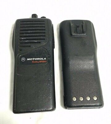 Motorola Gp350 Radius P93mgc20c2aa Radius Portable Radio With Battery