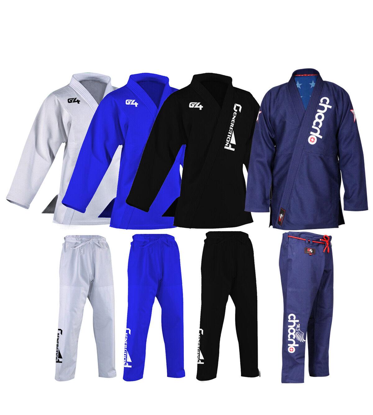 Venum Contender 2.0 BJJ Gi Jiu Jitsu Suit Uniform Blue White Black Navy Mens