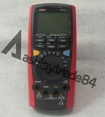 Uni-t Ut71e Intelligent Digital Multimeter Tester Usb To Pc True Rms Ut-71e New