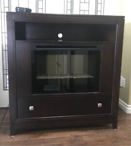 Buhler Maple Fireplace with Entertainment Unit