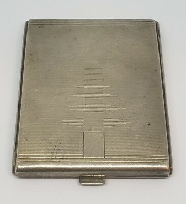 Vintage Polish Silver Cigarette Case marked SEMIA - ONE FAMILY OWNED