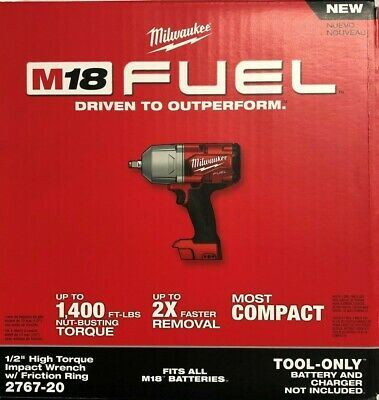 Milwaukee 2767-20 M18 1/2 High Torque Impact w/ friction ring New in box