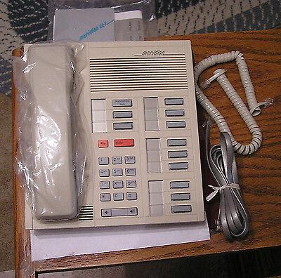 Northern Telecom Meridian M2112 Office Phone - Ash - Non-display - Nib - Cek10