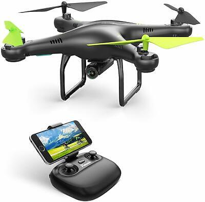 WiFi FPV Drone with 720P HD Camera , 360°Flip, RTF Remote Control Drone & More!