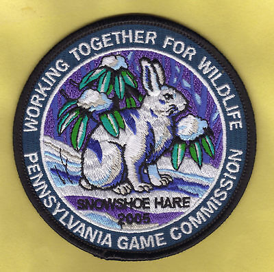 Pa Pennsylvania Fish Game Commission 2003 WTFW Eastern Cottontail Rabbit Patch
