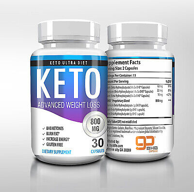 "☀ Best Keto Diet Pills 800mg Burn Fat- Advanced Weight Loss ""PURE KETO"" USA"