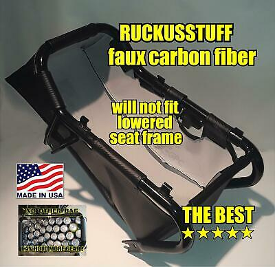 honda ruckus faux carbon fiber under seat cargo storage, luggage, bag, carry all