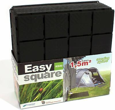 - Schwarz 20 Stück Beetplatten Bodenplatten Gehwegplatten