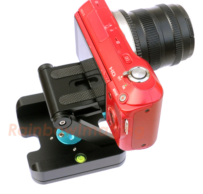 Aluminum Folding Quick Release Plate Stand Holder Tripod Z Flex Tilt Ball Head