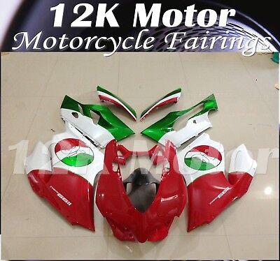 Fit For DUCATI 899 1199 Fairing Kit Fairings Set Bodywork Part Panel Design 7