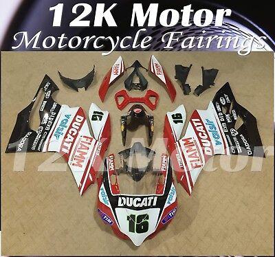 Fit For DUCATI 899 1199 Fairing Kit Fairings Set Bodywork Part Panel Design 17