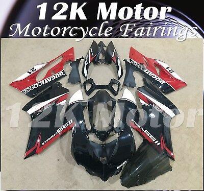 Fit For DUCATI 899 1199 Fairing Kit Fairings Set Bodywork Part Panel Design 14