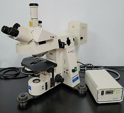Zeiss Microscope Axioplan 2 Motorized And Serviced