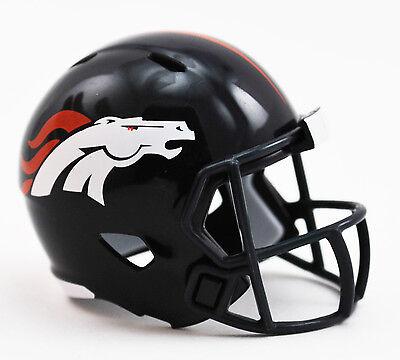 upcake / Cake Topper Mini Football Helmet (Broncos Cupcakes)