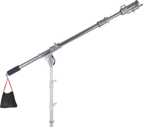 7 FT Boom Arm Heavy Duty Foldable Swivel Combo Receiver Photo Video Film Studio