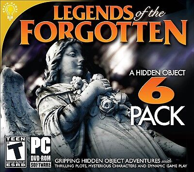 Computer Games - Legends Of The Forgotten 6 Pack PC Games Windows 10 8 7 XP Computer Games